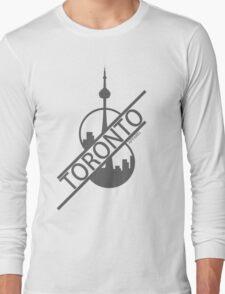 Toronto Apparel - Half Cut Long Sleeve T-Shirt