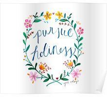 Pursue Holiness Poster