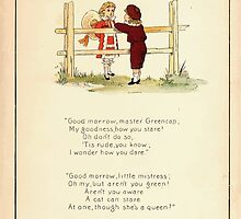 The Glad Year Round for Boys and Girls by Almira George Plympton and Kate Greenaway 1882 0029 Master Greencap by wetdryvac