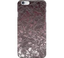 Grunge Relief Floral Abstract iPhone Case/Skin