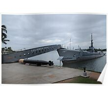 USS Bowfin Poster