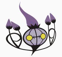 Chandelure - plain One Piece - Short Sleeve
