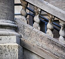 Pillar & Railing by Laurie Minor