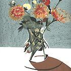 Orange Flowers by Lyn Fabian