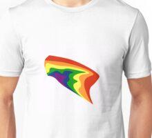 Rainbow Colors Gay Lesbian LGBT  illustration Unisex T-Shirt