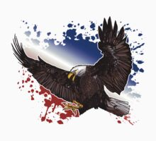 Bald Eagle - Red, White & Blue (2) Kids Clothes