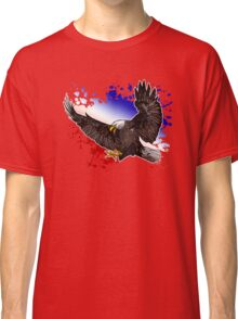 Bald Eagle - Red, White & Blue (2) Classic T-Shirt