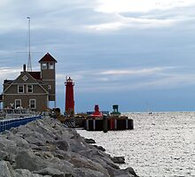 United States Coast Guard Station by BarbL
