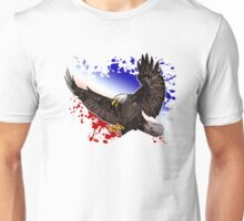 Bald Eagle - Red, White & Blue Unisex T-Shirt