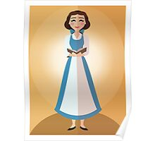 Symmetrical Princesses: Belle Poster