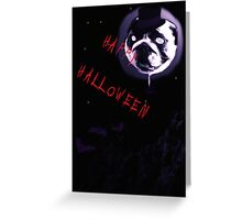 Happy Halloween with Wilmi Greeting Card