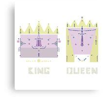 King 'n' Queen Canvas Print