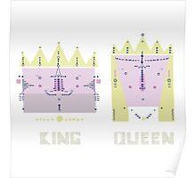 King 'n' Queen Poster
