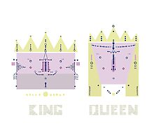 King 'n' Queen Photographic Print
