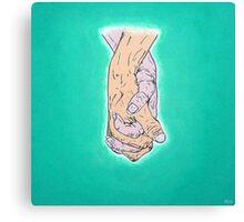 Hands 01 Canvas Print