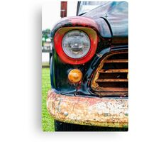 1956 Chevy 3200 Pickup Grill Detail Canvas Print
