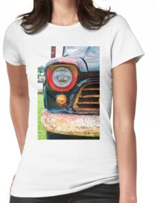 1956 Chevy 3200 Pickup Grill Detail Womens Fitted T-Shirt