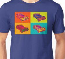 1964 Morgan Plus 4 Convertible Pop Art Unisex T-Shirt