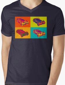 1964 Morgan Plus 4 Convertible Pop Art Mens V-Neck T-Shirt