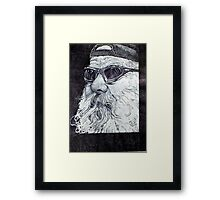 King of the road Framed Print
