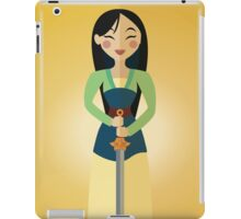 Symmetrical Princesses: Mulan iPad Case/Skin