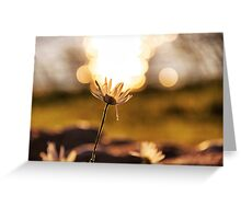 Holding up the sky Greeting Card