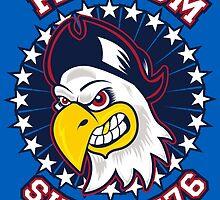 Freedom Eagle by joebarondesign