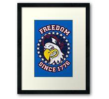 Freedom Eagle Framed Print