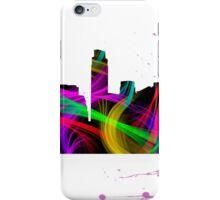 Austin Skyline Watercolor Art iPhone Case/Skin