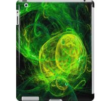 Alien Gold Green iPad Case/Skin