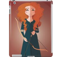 Symmetrical Princesses: Merida iPad Case/Skin