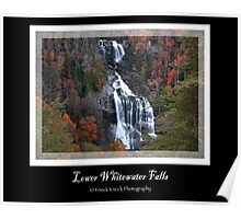 Lower Whitewater Falls Poster