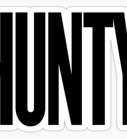 HUNTY Sticker