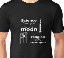 Science Vs Religion V1 Unisex T-Shirt