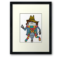 The Fourth Doctor Framed Print