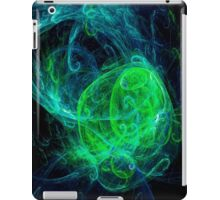 Alien Green Blue iPad Case/Skin