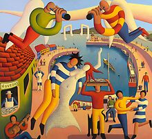The mermaid of howth harbour by Alan Kenny