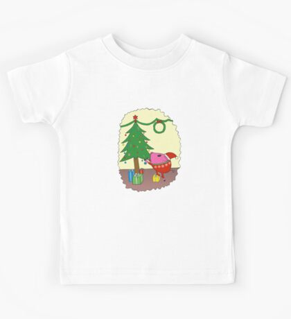 PiGgy is ready for Christmas! Kids Tee
