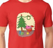 PiGgy is ready for Christmas! Unisex T-Shirt
