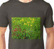 Pretty Spring Prairie  Wildflowers Unisex T-Shirt