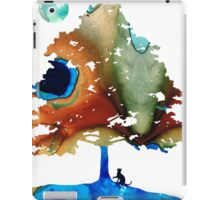 Determination - Colorful Cat Art Painting iPad Case/Skin
