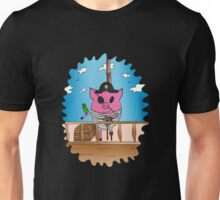 PiGgy is a Pirate! Unisex T-Shirt