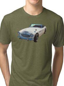 Austin Healey 300 Sports Car Tri-blend T-Shirt
