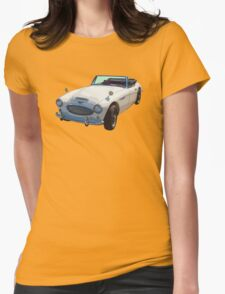Austin Healey 300 Sports Car Womens Fitted T-Shirt