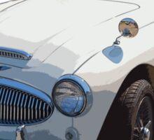 Austin Healey 300 Sports Car Sticker