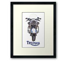 Triumph Thunderbird LT Framed Print