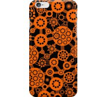 Ecosystem - Orange and Black iPhone Case/Skin