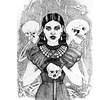 Death & Her Friends - Uncoloured Photographic Print