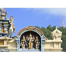 Seychelles Hindu Temple Photographic Print