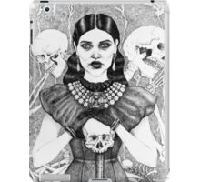 Death & Her Friends - Uncoloured iPad Case/Skin